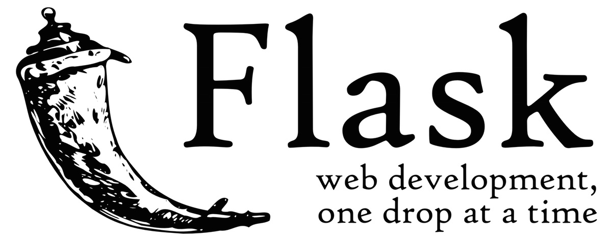 Official Flask logo. Flask Artwork License.